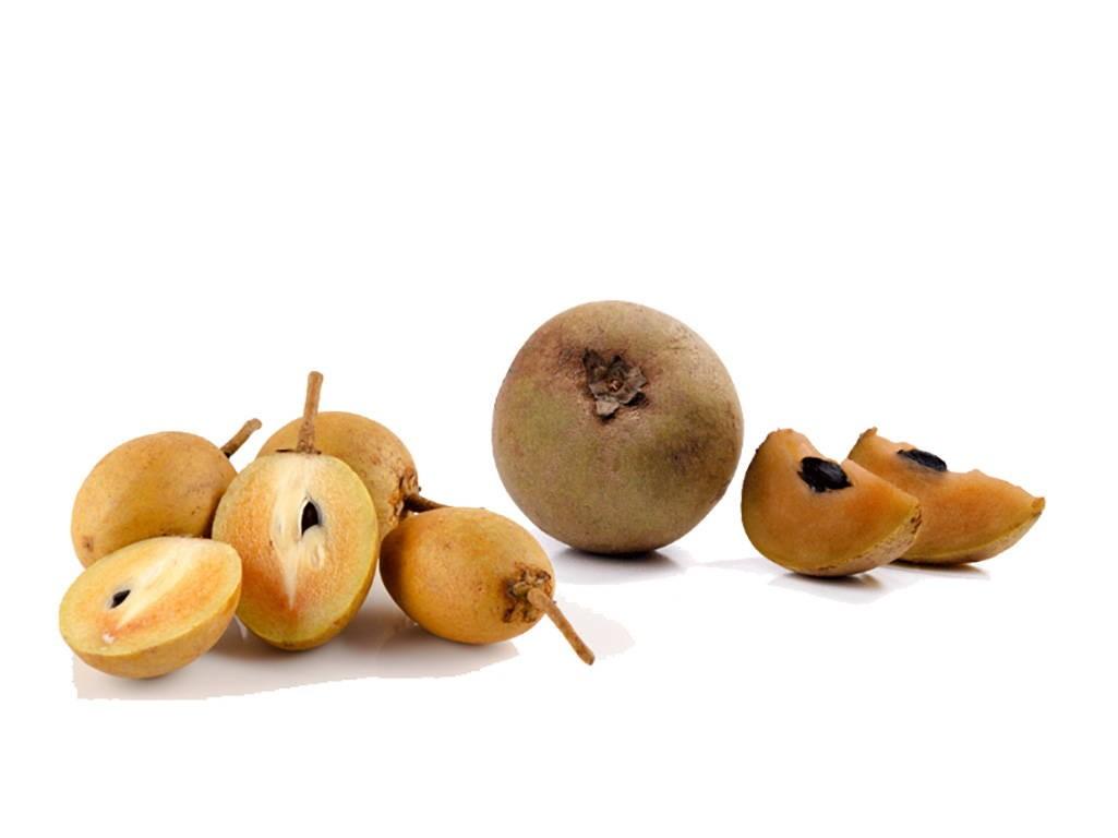 Саподилла фрукт – фото разрезанных плодов