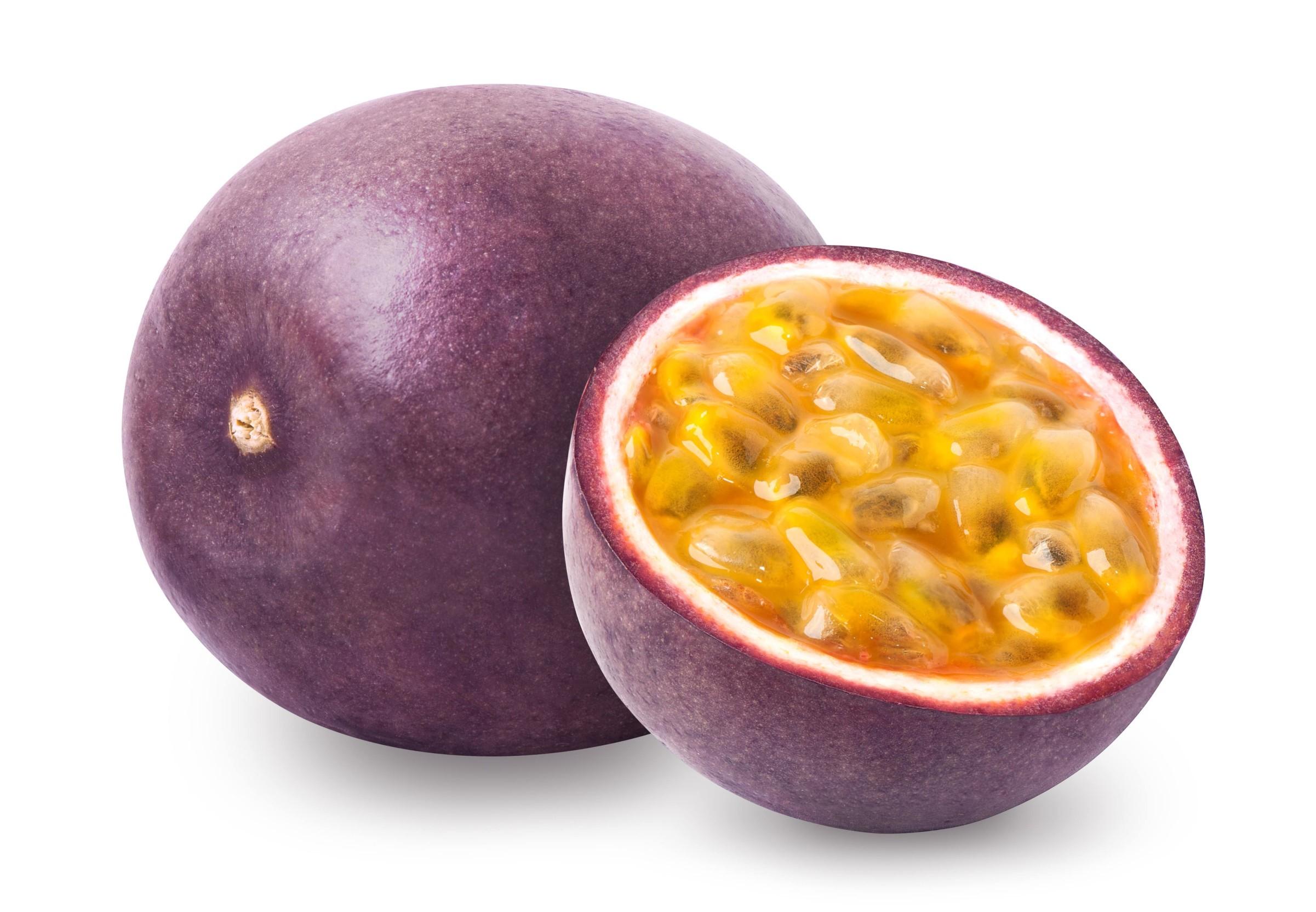 Спелый плод маракуйя фото в разрезе