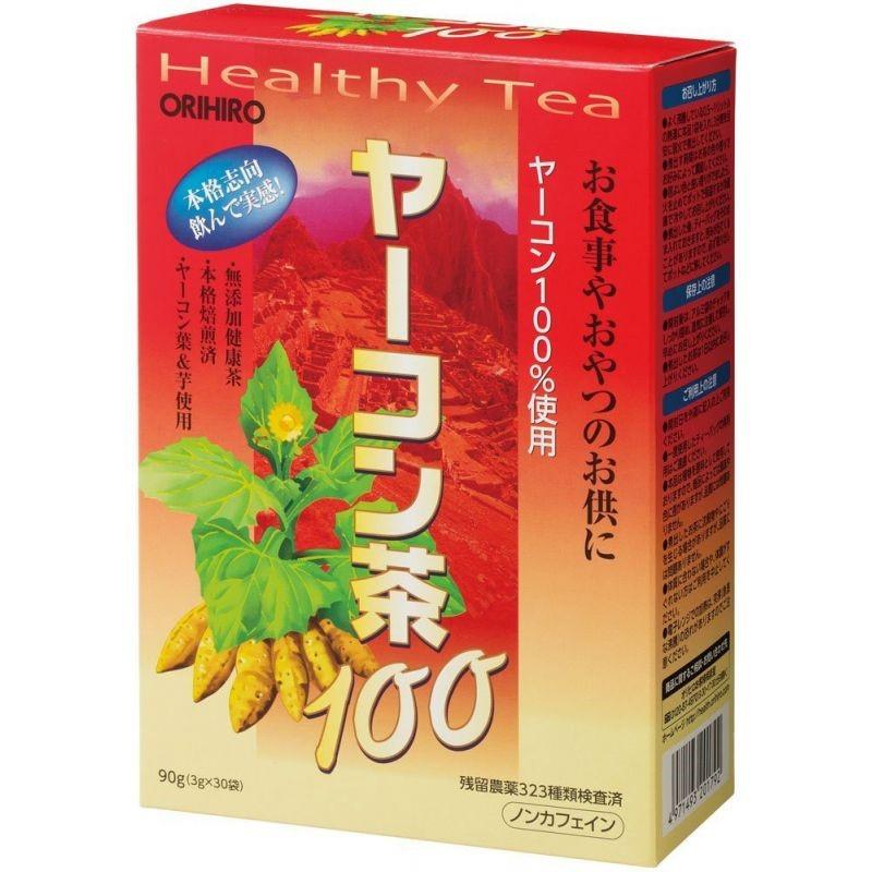 Японский чай из якона для похудения