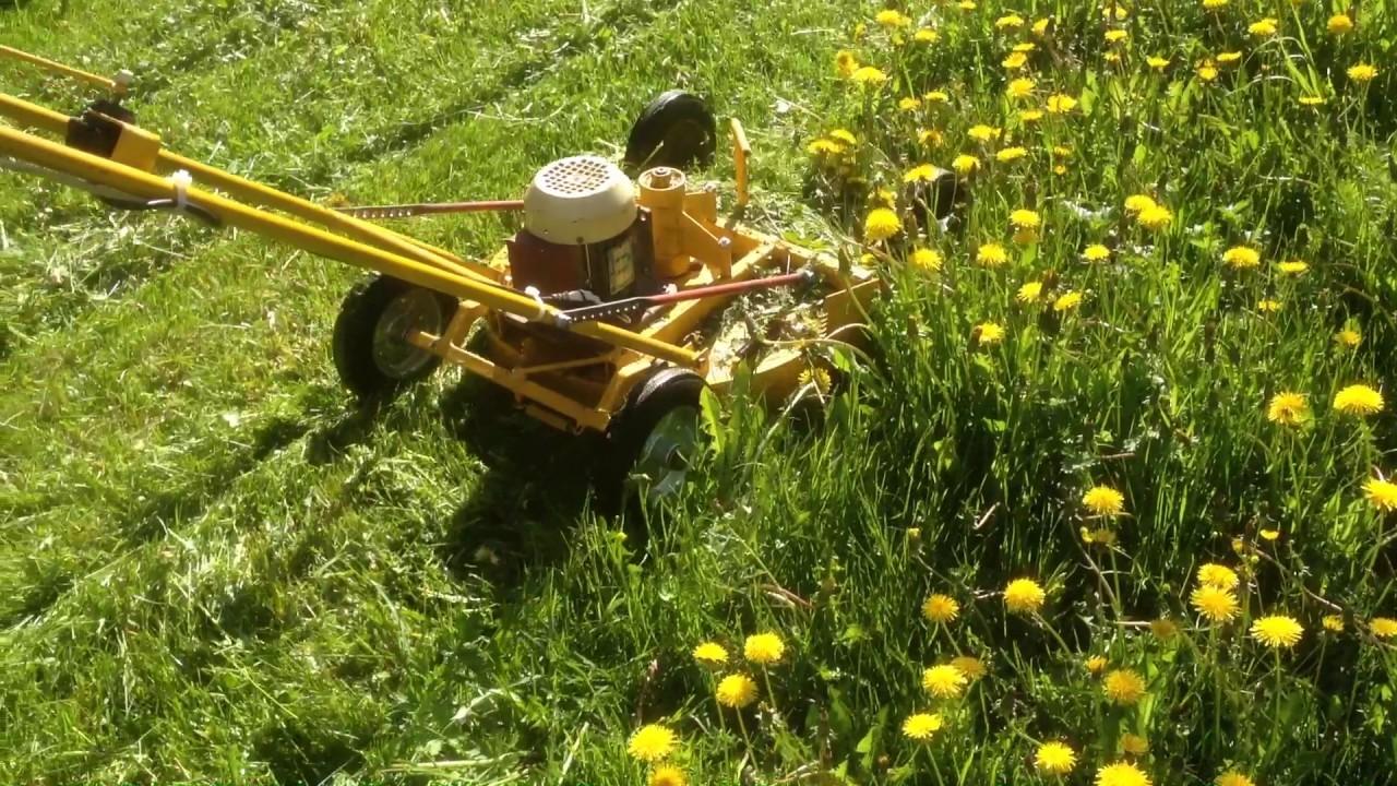 Газонокосилка должна быть с мешком для сбора скошенной травы