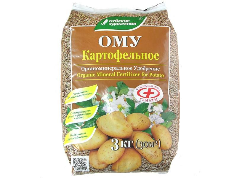 Картофельное органоминеральное удобрение