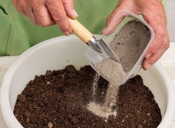 Песок – обязательный компонент почвенной смеси для перца