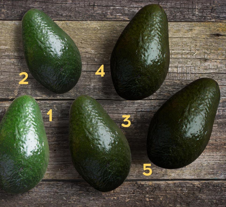 Самый спелый плод под №5